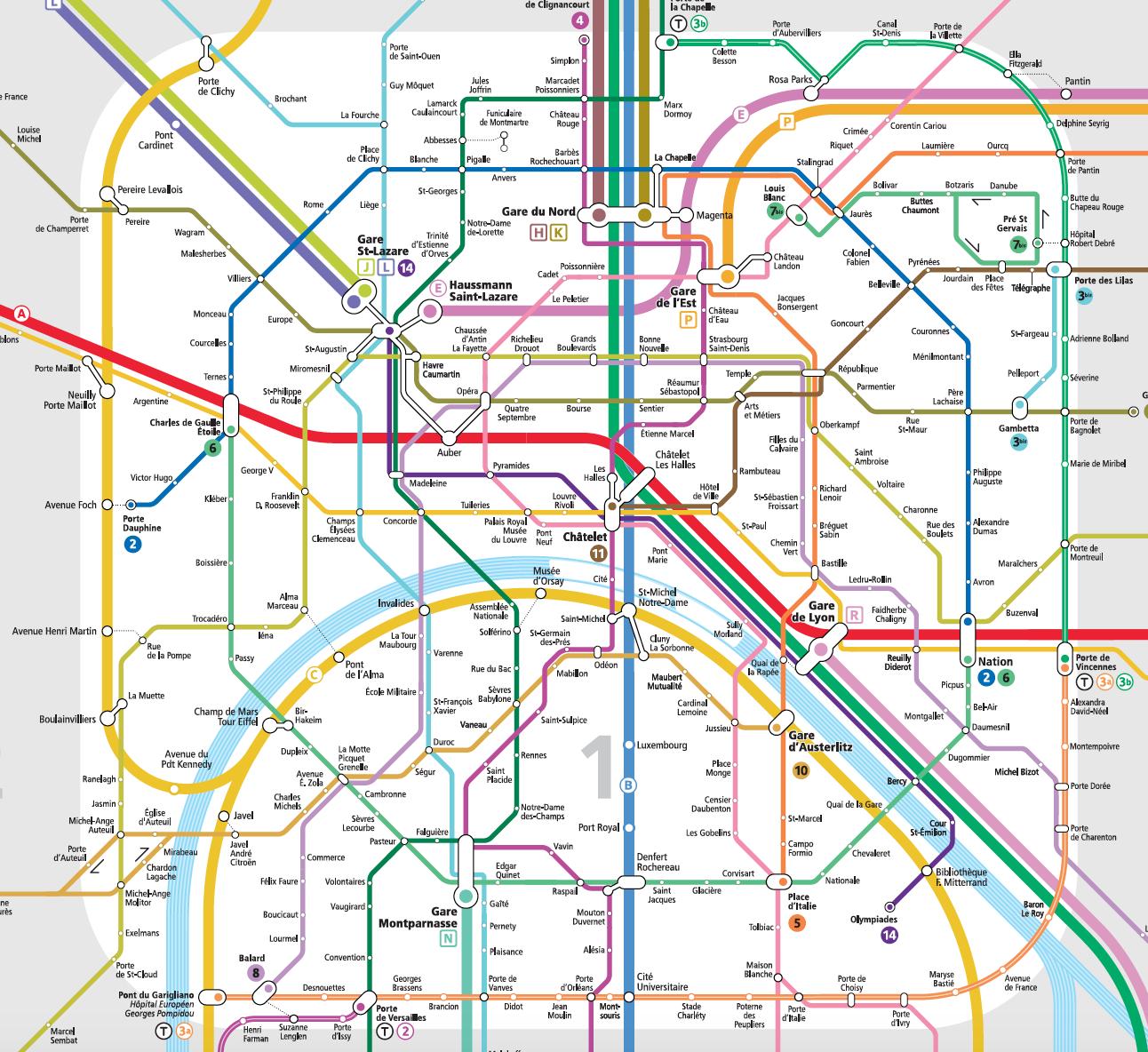Gard Du Nord Paris Map.Comparative Accessibility Paris Step Free London